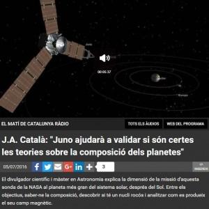 Juno a Catalunya Ràdio