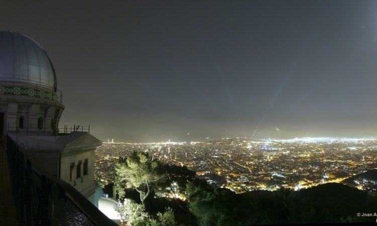 Acord amb l'Observatori Fabra de Barcelona per a desenvolupar activitats d'empresa