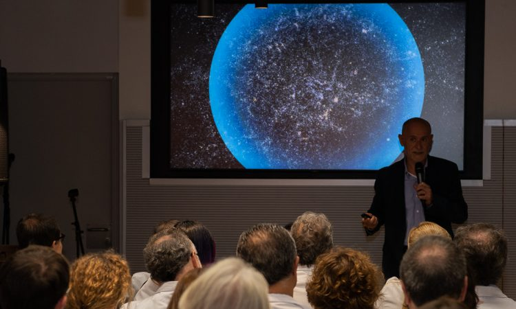"""Convidat a inaugurar """"Univers Clínic"""" a l'Hospital Clínic de Barcelona"""