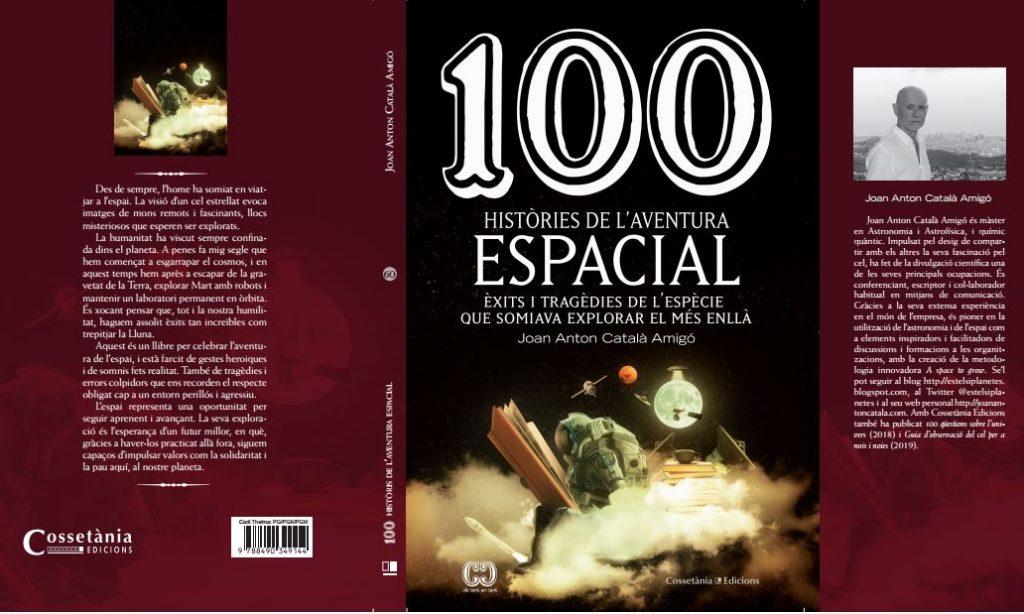 """Ja està aquí el meu nou llibre""""100 històries de l'aventura espacial"""""""