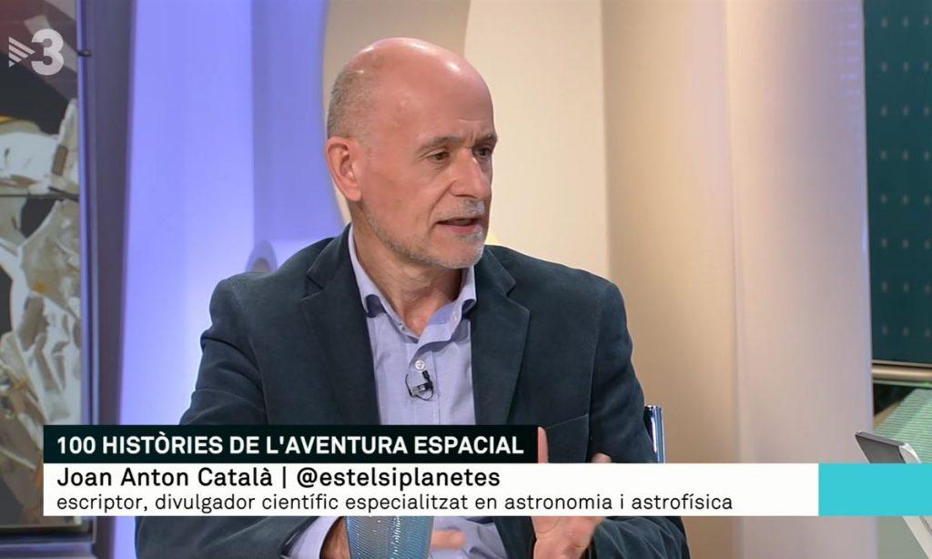"""Què conté """"100 històries de l'aventura espacial?"""" Ho explico a TV3."""