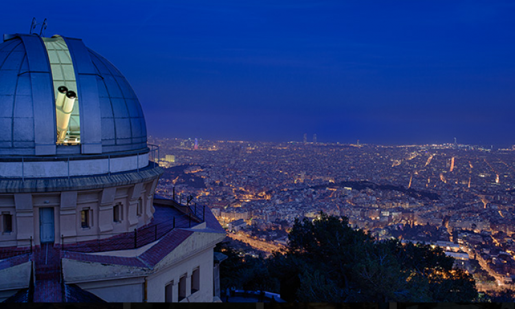 Titular en el Observatorio Fabra de Barcelona