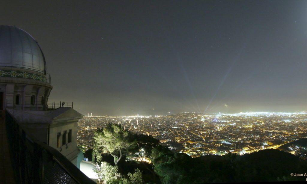 Acuerdo con el Observatorio Fabra de Barcelona para desarrollar actividades de empresa