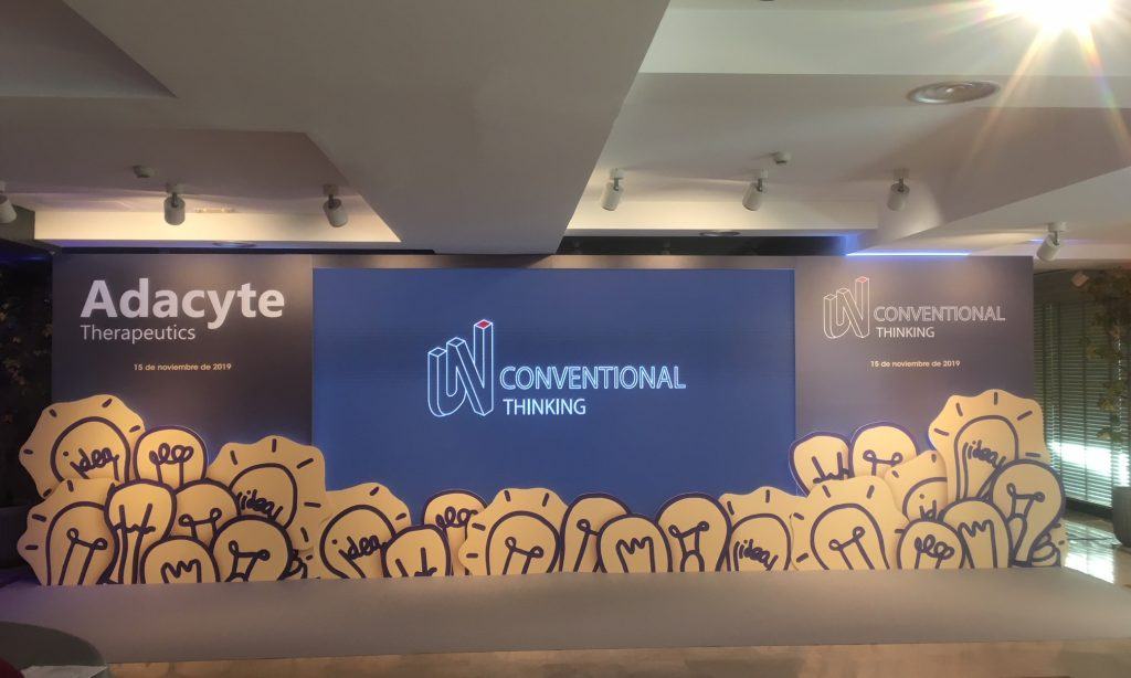 El universo y el espacio en el workshop «Unconventional Thinking» de Adacyte Therapeutics