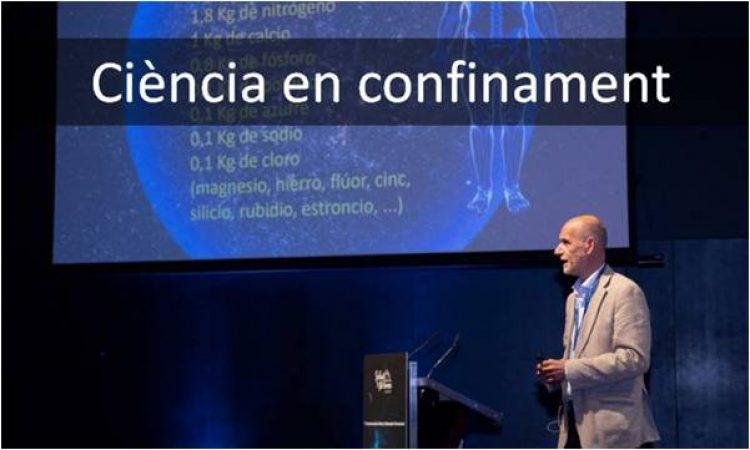 «Ciència en confinament». Una iniciativa para hacer más soportable el confinamiento (en català)